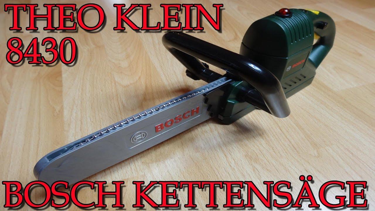 """theo klein 8430 bosch kettensÄge"""" -vorstellung - youtube"""