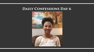 Daily Confessions with Glinda - New Confession Everyday - Day 6