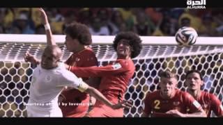 فوز بلجيكا على الجزائر 2-1