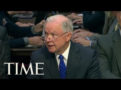 Jeff Sessions Defends President Trump's Travel Ban: 'The Order Is Lawful'   TIME