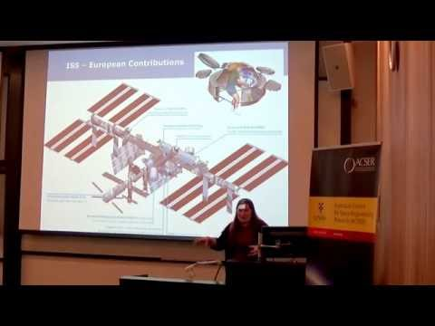 Andrea Boyd, Australian Engineer stationed at the European Astronaut Centre