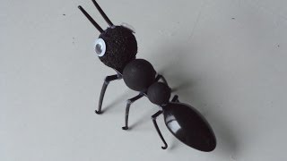 Recycled Crafts For Adults And Kids: Making An Ant