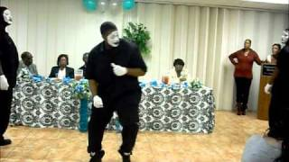 Let Go, Let God Mime Dance (One Accord)