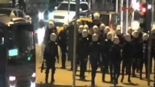 Adana'da büyük derbi sonrası olay! video   Adana Demirspor, Adanaspor, Derbi
