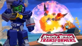 Angry Birds Transformers - Energon Soundwave MAX Level (Extreme)