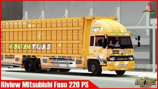 ETS2 : Review Mod Mitsubishi Fuso 220 PS Modifikasi Dan Test Drive