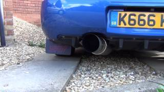 2004 Subaru Impreza WRX STi Afterburner Raptor exhaust + After…