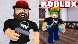 IT IS SO EASY TO TRICK MY DAD in ROBLOX MURDER MYSTERY 2