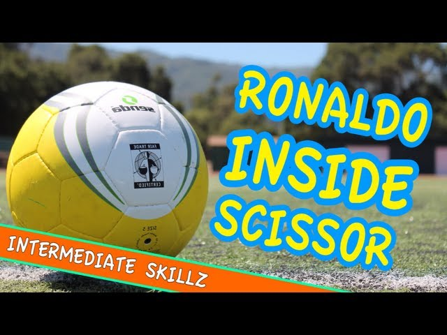 Inside Scissor Ronaldo Soccer Trick