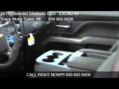 2015 chevrolet silverado 1500 1lt 4x4 crew cab standard for Voice motors kalkaska michigan