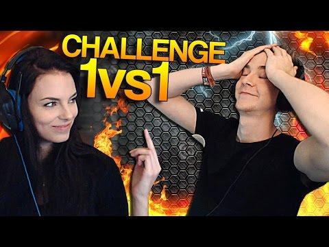 CS:GO - Sparkles vs Girlfriend (1vs1 Challenge)