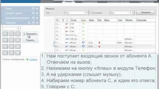 ZyXEL X8004 Урок №8. Переводы звонков (Call Transfer)