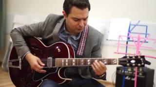 Видео-уроки игры на гитаре. Алексей Станков. Jump Blues. Музыкальная школа