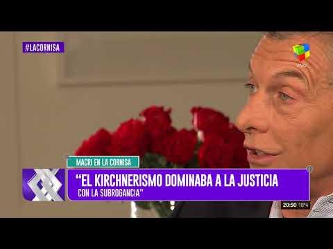 Mauricio Macri con Luis Majul 2018
