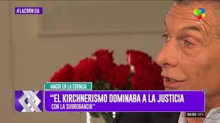 Mauricio Macri en La Cornisa (Nota completa)
