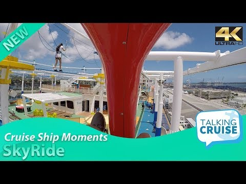 Cruise Ship Moments: SkyRide on Carnival Cruise Line