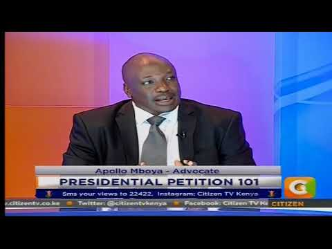 Presidential Petition 101 #CitizenExtra