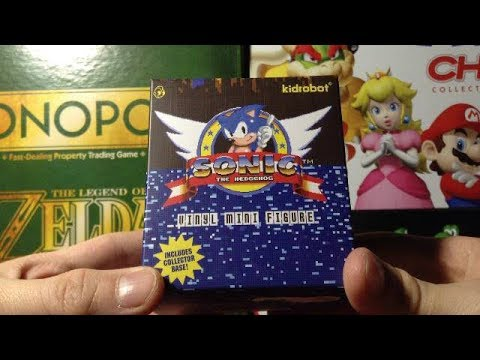 Figure Opening Sonic The Hedgehog Vinyl Mini Figure Youtube