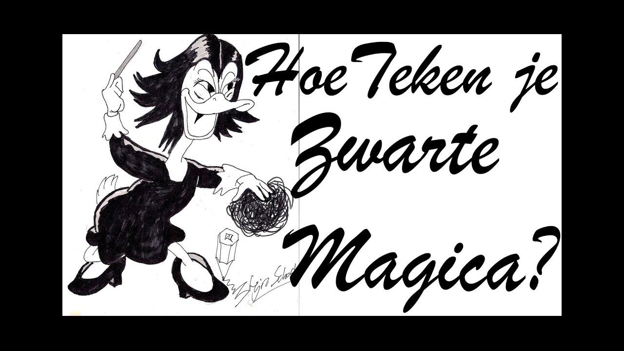 how do you draw zwarte magica