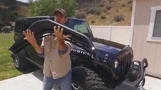 Jeep Wrangler Front Fender Upgrade! MetalCloak Overline DIY Installation for JKU Rubicon