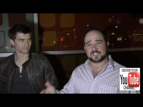 Tyler Cole and Bradley Pierce talks about what kinda music they listen to outside the ArcLight Theat