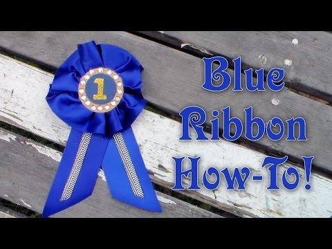 How to Make an Award Ribbon