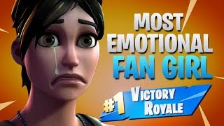 Carrying Emotional Fan Girl (Fortnite Battle Royale)