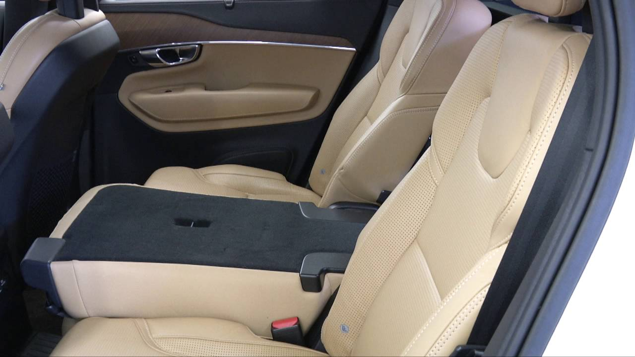 folding and unfolding seats volvo xc90 youtube. Black Bedroom Furniture Sets. Home Design Ideas