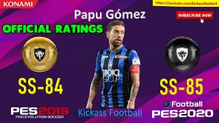 PES 2020 ALL 31 GOLD TO BLACK BALL OFFICIAL RATINGS🔥🔥 MOBILE & PC