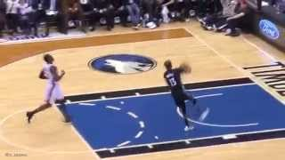 Corey Brewer Travel On Fast Break Dunk