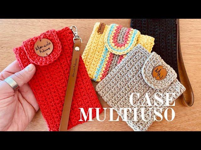 Case Multiuso - Linda e Fácil - Bolsinha de Mão -  Porta Celular - Porta Óculos - Porta Cartões