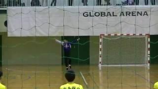 20180204九州高等学校ハンドボール選抜大会 男子 5位決定戦 九州産業vs熊本国府(前半1/2)