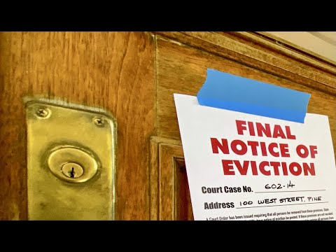 Download Evictions see modest rise after moratorium lifts: Report