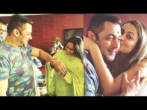 Salman Khan Rakhi Celebration 2016 With Sisters Arpita & Alvira Khan