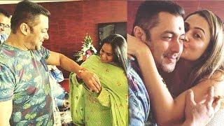 Salman Khan Rakhi Celebration 2016 With Sisters Arpita & Alvira Khan