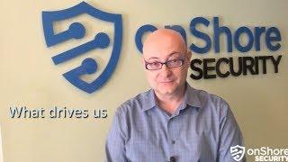 onShore's Stelios Valavanis - Our focus on security