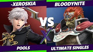 Smash Ultimate Tournament - -Xeroskia (Robin) Vs. Bloodynite (Ganondorf) S@X 285 SSBU Pools thumbnail