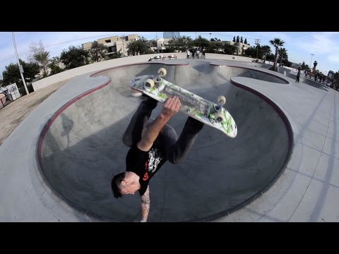 Chris Russell Gears up for Vans Park Series
