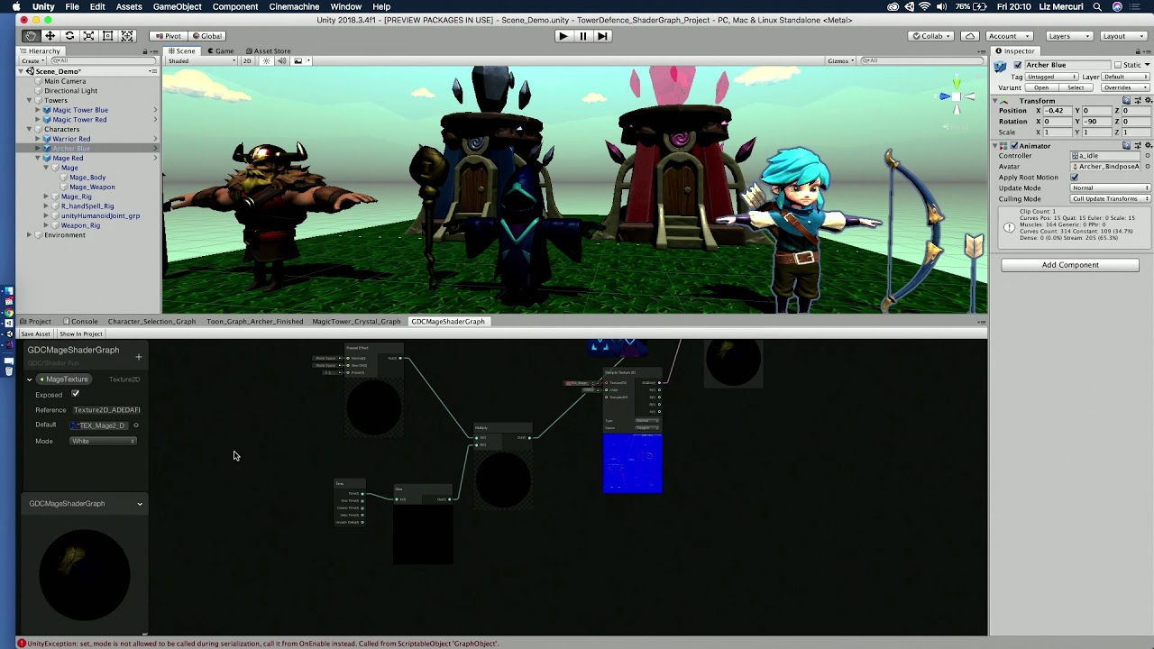 creating your own shaders
