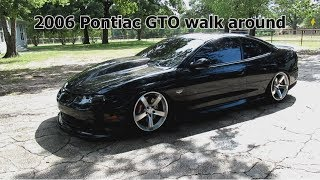 2006 GTO with mod list