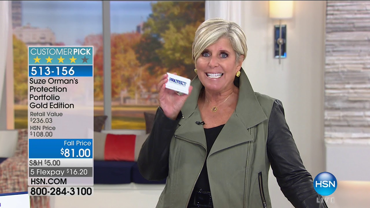 Hsn suze orman financial solutions for you 09232017 08 pm hsn suze orman financial solutions for you 09232017 08 pm solutioingenieria Choice Image