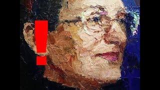 Без ЭТОГО Вам никогда не стать художником! Портрет с натуры мастихином.