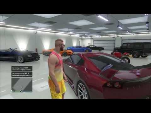 """GTA V Online - """"Мой гараж и трагикомедия в конце"""""""