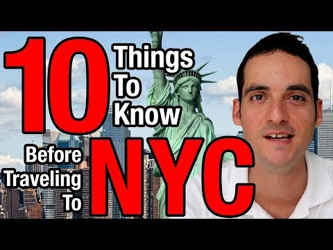 10 Things To Know Before Traveling To New York City - NYC Travel Tips