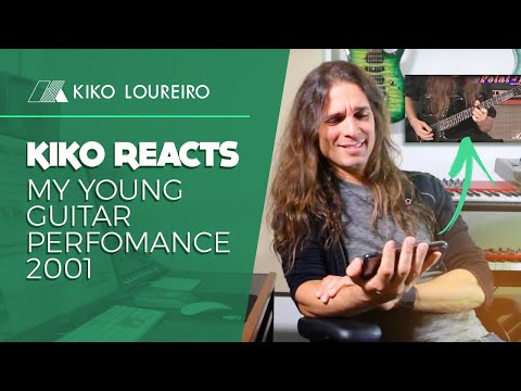 Kiko Reacts | My Young Guitar Perfomance 2001
