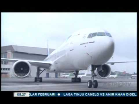 Garuda Indonesia - The New Airbus 330-300 with Super Diamond Seat