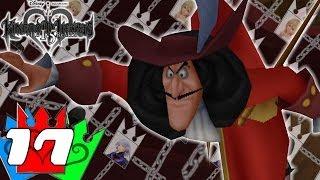 Zapętlaj Kingdom Hearts HD 1.5 ReMIX - Re:Chain of Memories - Ep. 17 - Captain Hook gets Hooked! | Soraalam1