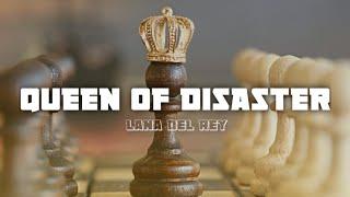 Lana del rey - queen of disaster (lyrics) [karaoke]