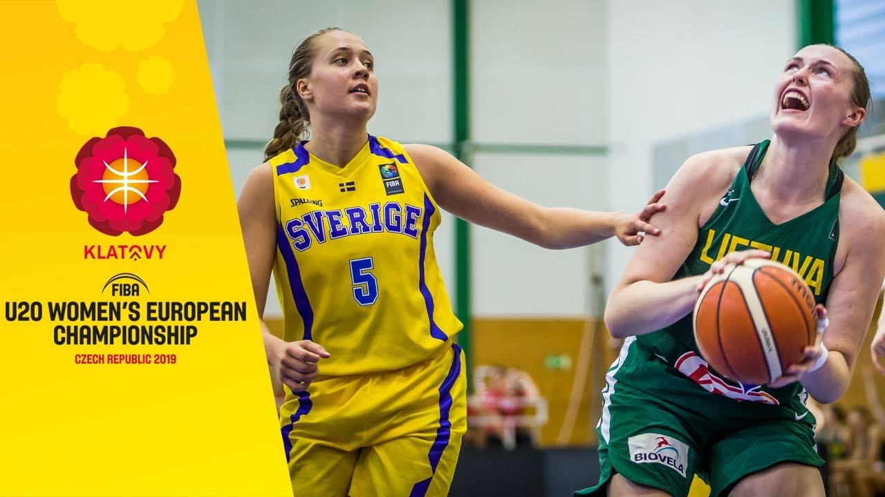Sweden v Lithuania - Full Game