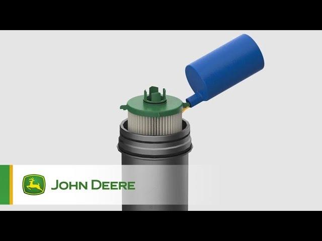 Cartouche originale du filtre hydraulique avec boîtier John Deere
